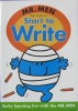 Mr Men: Start to Write Dean Character