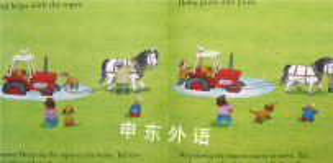 Usborne farmyard tales: The runaway tractor