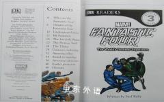 DK Readers: Fantastic Four The world's greatest superteam