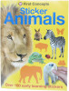 First Concepts: Sticker Animals
