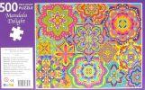 Mandala Delight 500  Piece Jigsaw Puzzle